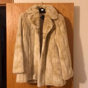Women's Express Faux Fur Jacket (Size Medium)